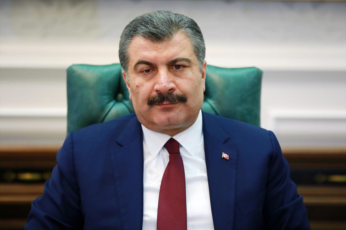 Sağlık Bakanı Fahrettin Koca- AA