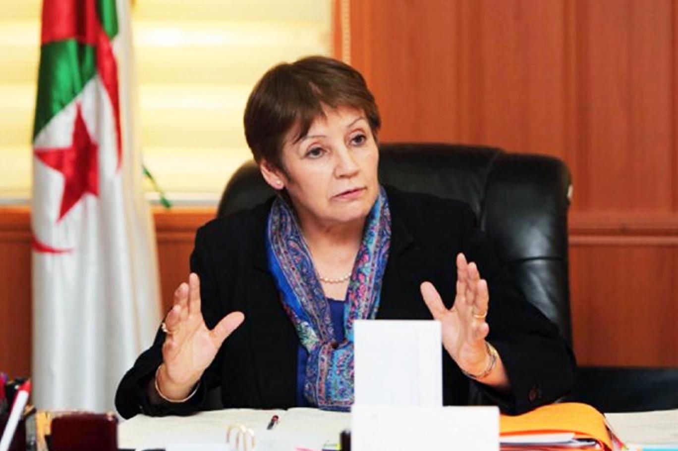 cezayir eğitim bakanı nuriye bengabrit