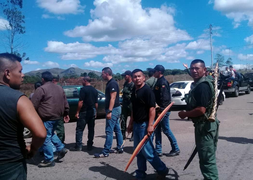 Venezuela, Brezilya sınırı Fotoğraf İHA.jpg