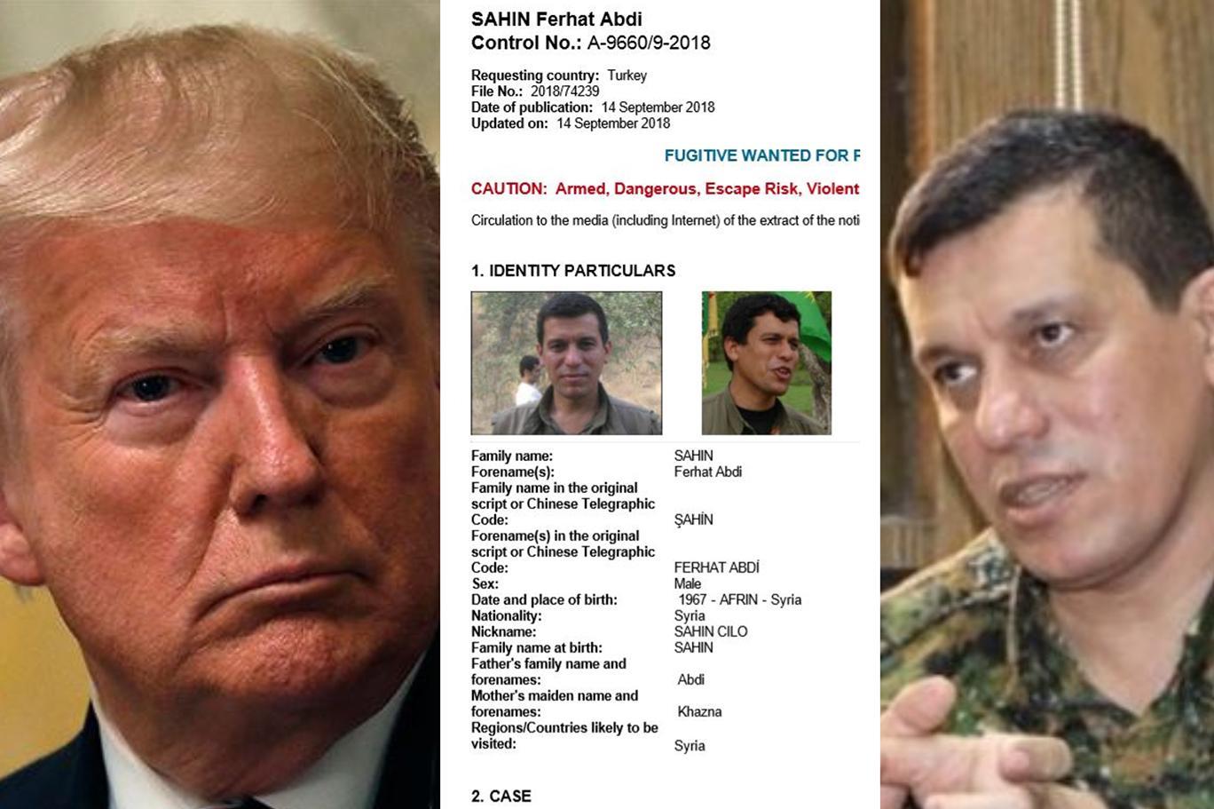 """Trump'ın """"General Mazlum"""" dediği Şahin Cilo için çıkarılan kırmızı bültenin ayrıntıları: Dışişleri nota verdi   Independent Türkçe"""