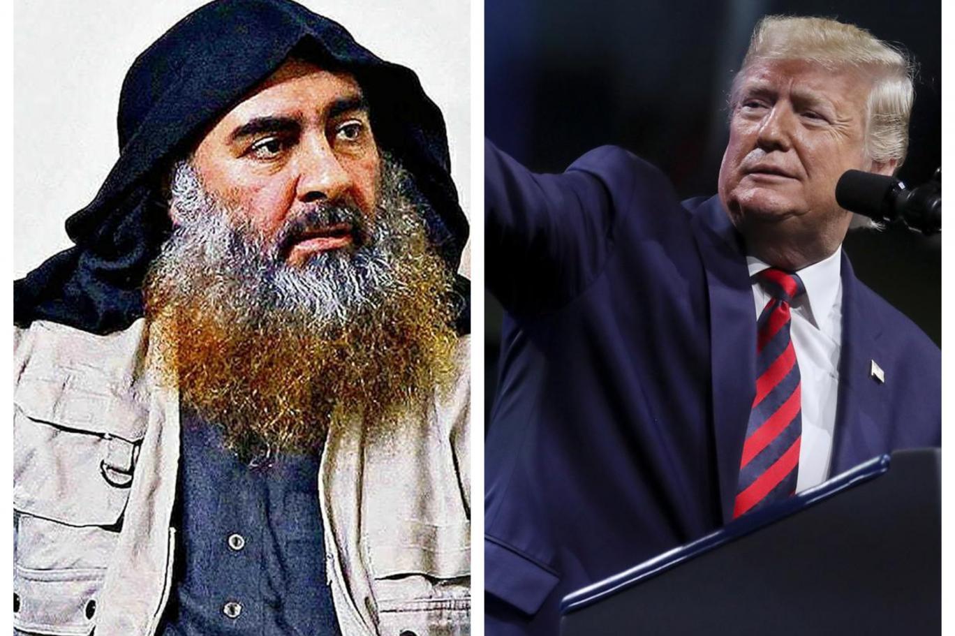 ABD Başkanı Trump bağdadi ile ilgili görsel sonucu