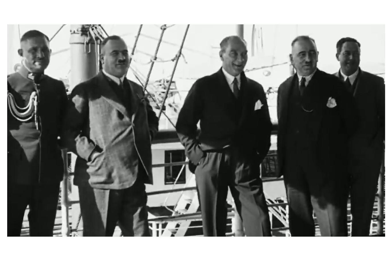 Atatürk'ün 1930'da çekilen, ilk kez yayınlanan ile ilgili görsel sonucu