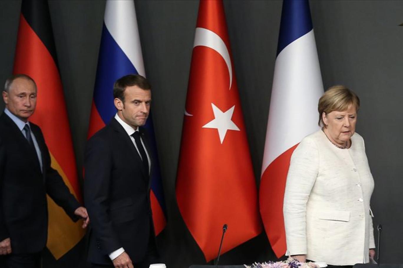 Macron ve Merkel'den 'Dörtlü İstanbul Zirvesi' çağrısı: İdlib'de insani felaket yaşanıyor