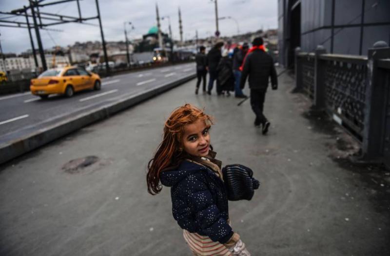 Suriyeli mülteci çocuk AFP.jpg