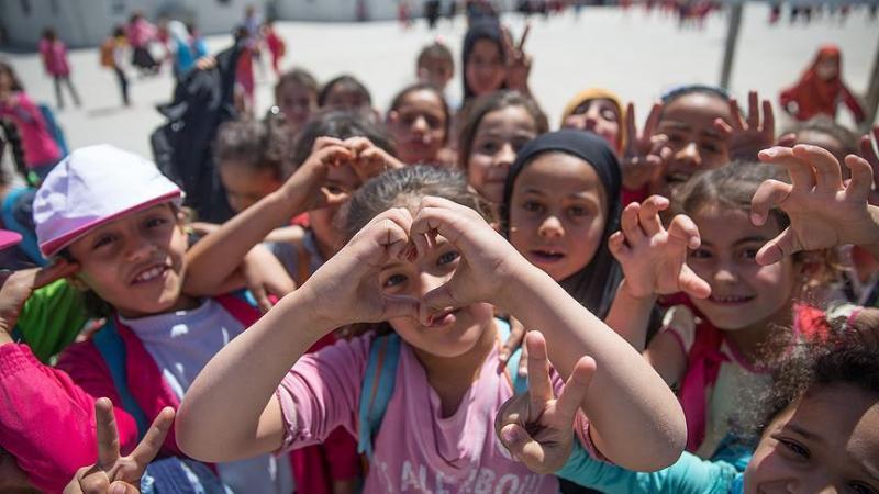 Suriyeli mülteci çocuklar AA.jpg