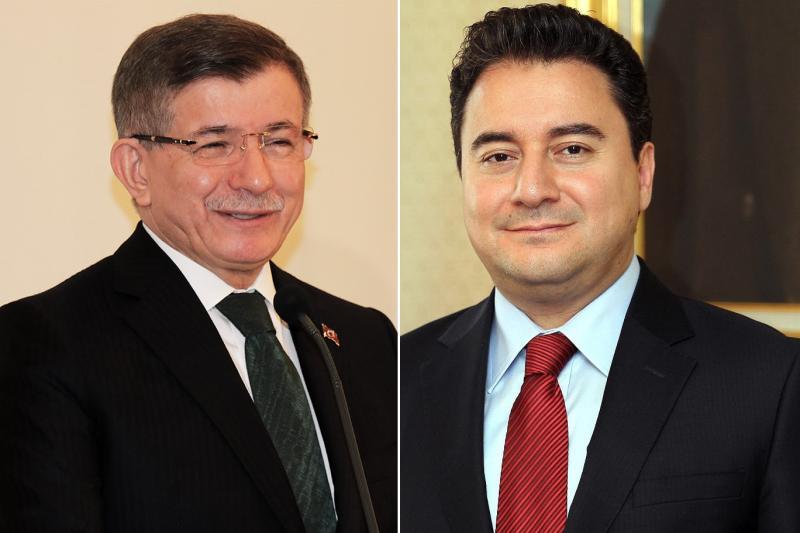 Ahmet Davutoğlu - Ali Babacan : AA, Twitter