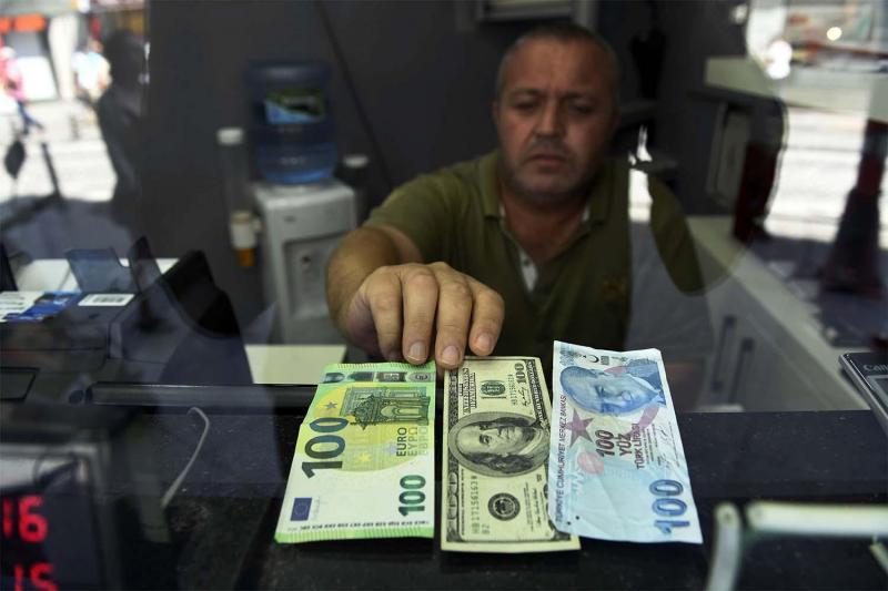 lira dolar euro döviz AP