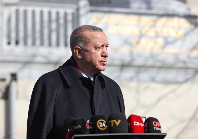 Recep Tayyip Erdoğan AA