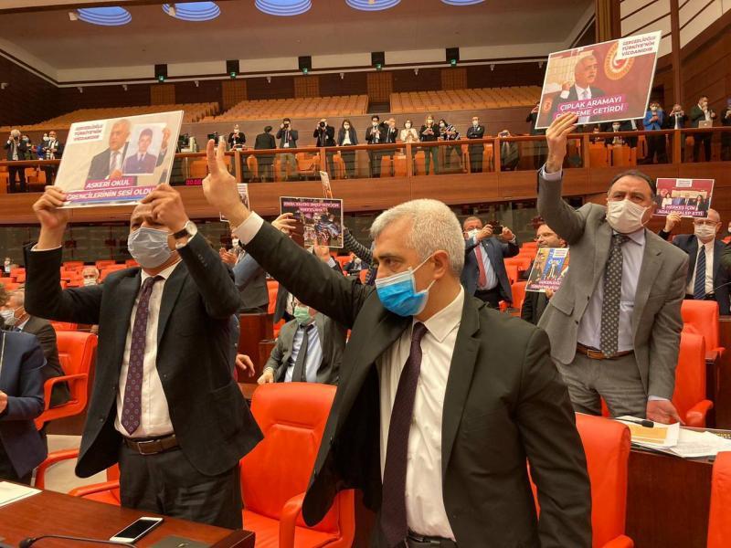 """Ömer Faruk Gergerlioğlu'nun """"Adalet Nöbeti"""" 11. günde"""
