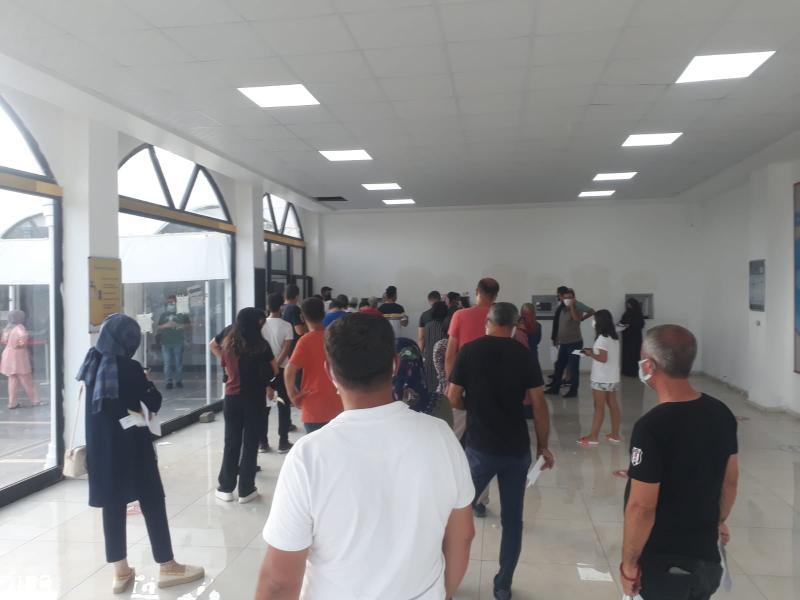 Gazi Yaşargil Eğitim ve Araştırma Hastanesi Covid test kuyruğu.jpeg
