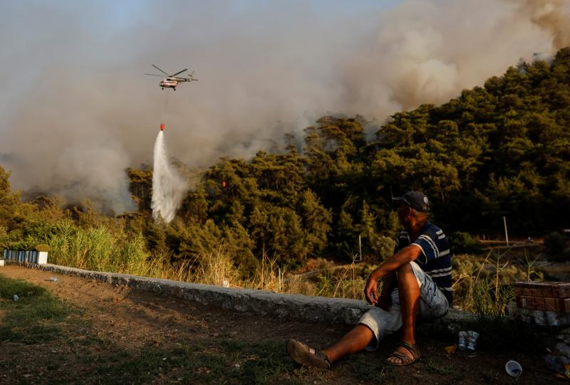 marmaris yangın REUTERS/Umit Bektas