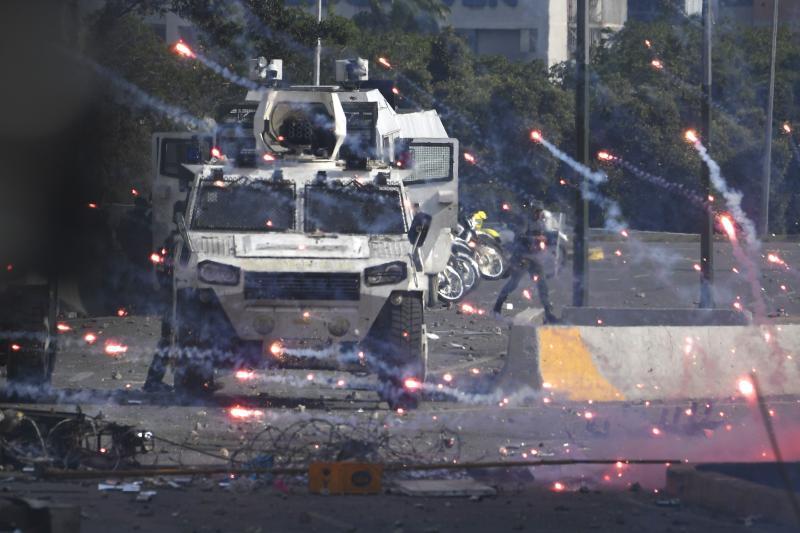 venezuela çatışmalar 1 afp.jpg
