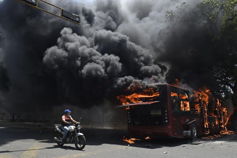 venezuela çatışmalar 3 afp.jpg