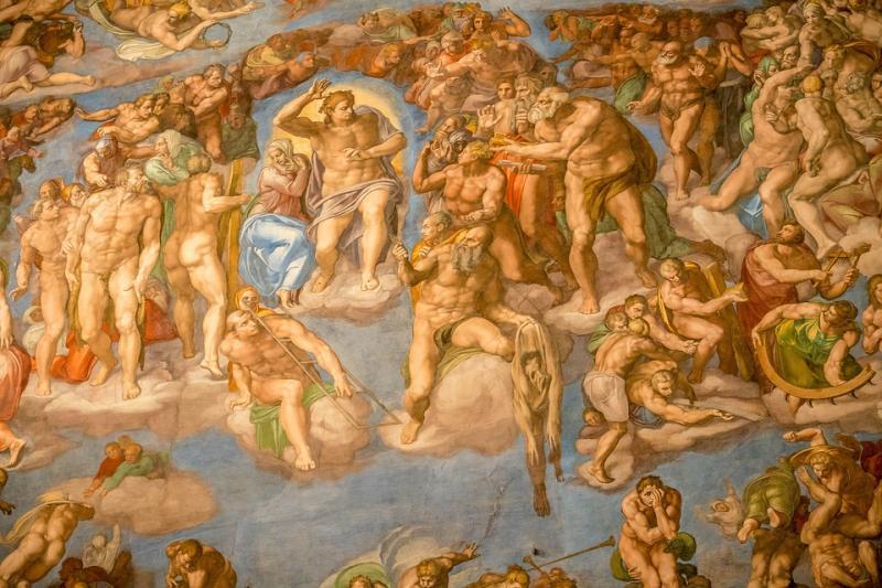 Sistina Şapeli, Vatikan- Michelangelo- Pixabay.jpg