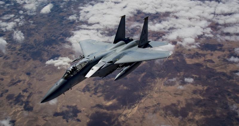 F 15 savaş uçağı