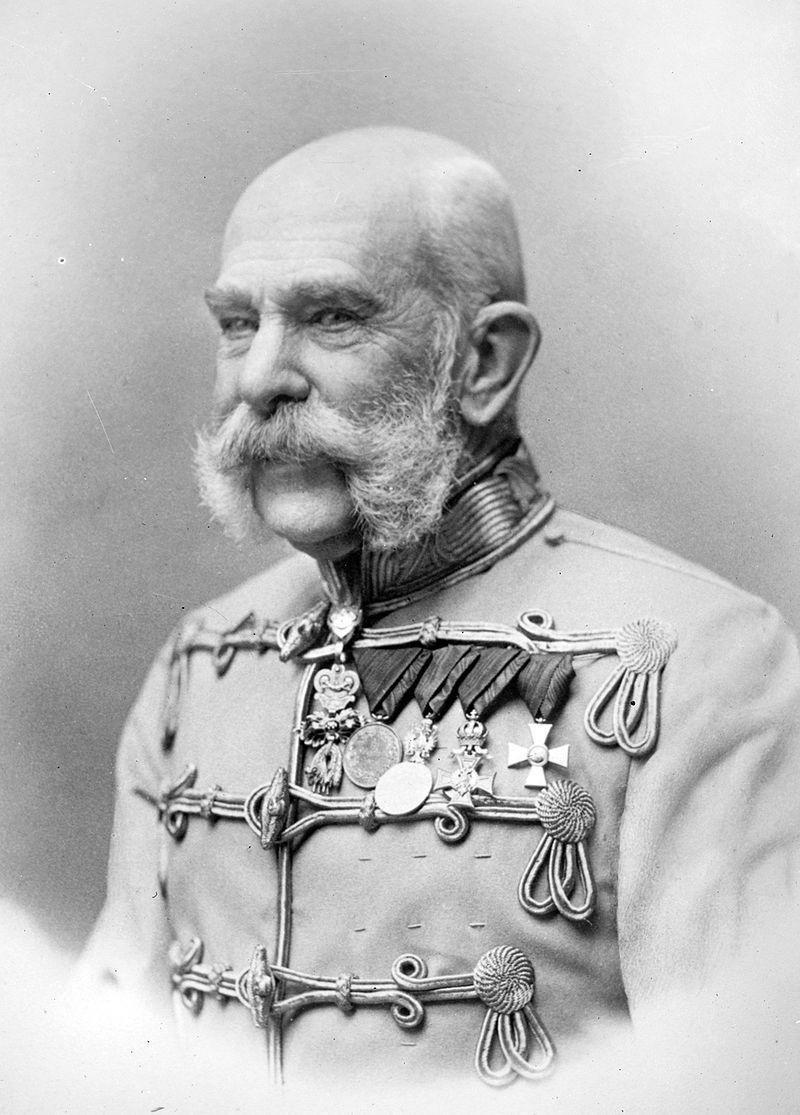 4 Avusturya İmparatoru Frans Joseph'in portresi.jpg