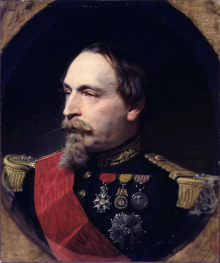5- Fransa İmparatoru 3. Napolyon'un resmi.jpg