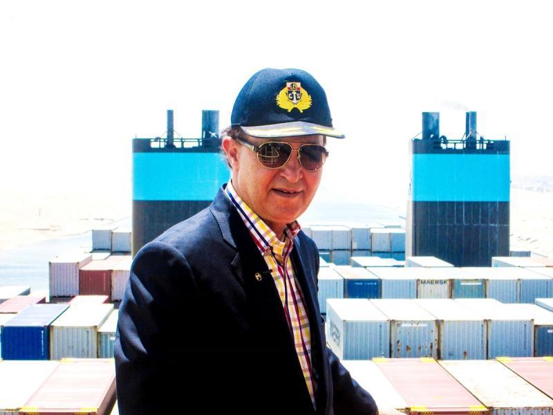 Süveyş Kanalı İdaresi Başkanı Korgeneral Muhab Memiş / Fotoğraf: Independent Arabia