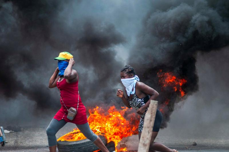 11 HAZİRAN - Haiti'de hükümet karşıtı protestolar - AA.jpg