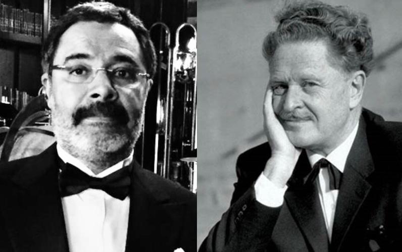 Ahmet Ümit ve Nazım Hikmet. Ahmet Ümit Twitter..jpg