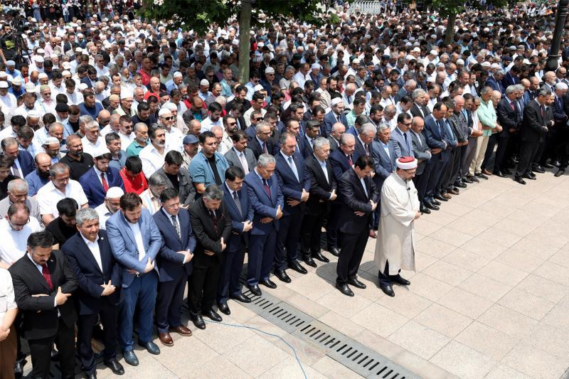 Ankara Mürsi için gıyabi cenaze - AA.jpg