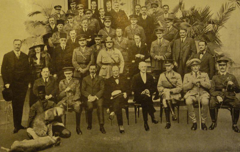 1921 Kahire Konferansında Gertrude Bell.jpg