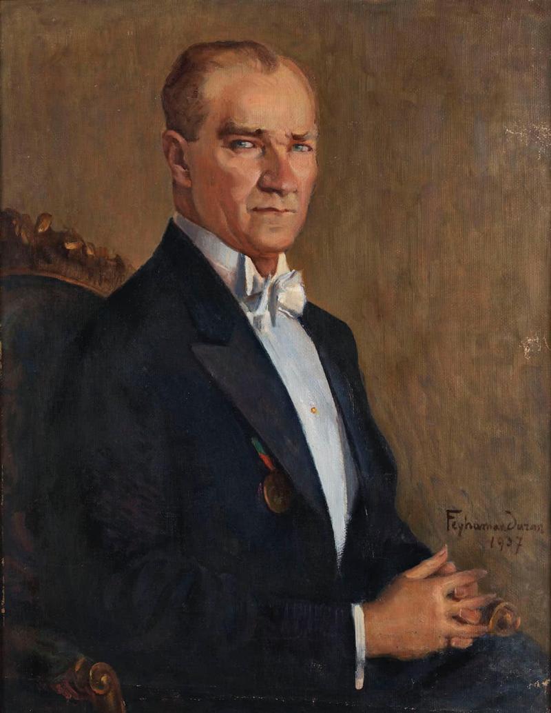 Atatürk_Portre_Feyhaman_Duran
