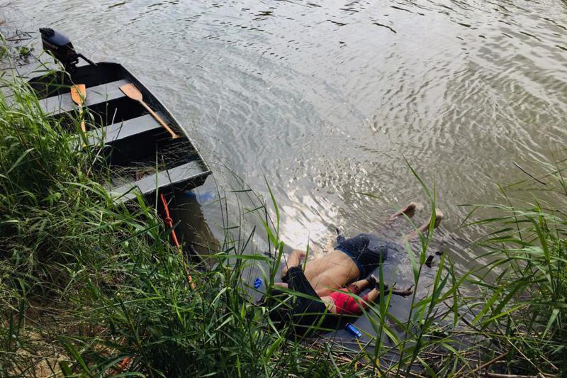 Boğulan Meksikalı göçmen baba kız - AFP (1).jpg