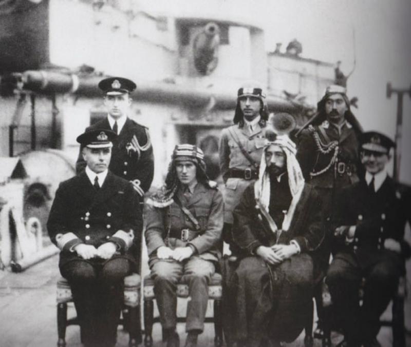 Emir_Faisal, T.E. Lawrence - Wikimedia Commons.jpg