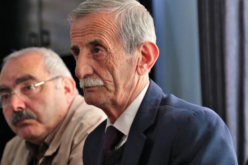 Gazi Cemevi Dedeler Kurulu Başkanı ve Baba Mansur Ocağı Piri Mehmet Karabulut.jpg