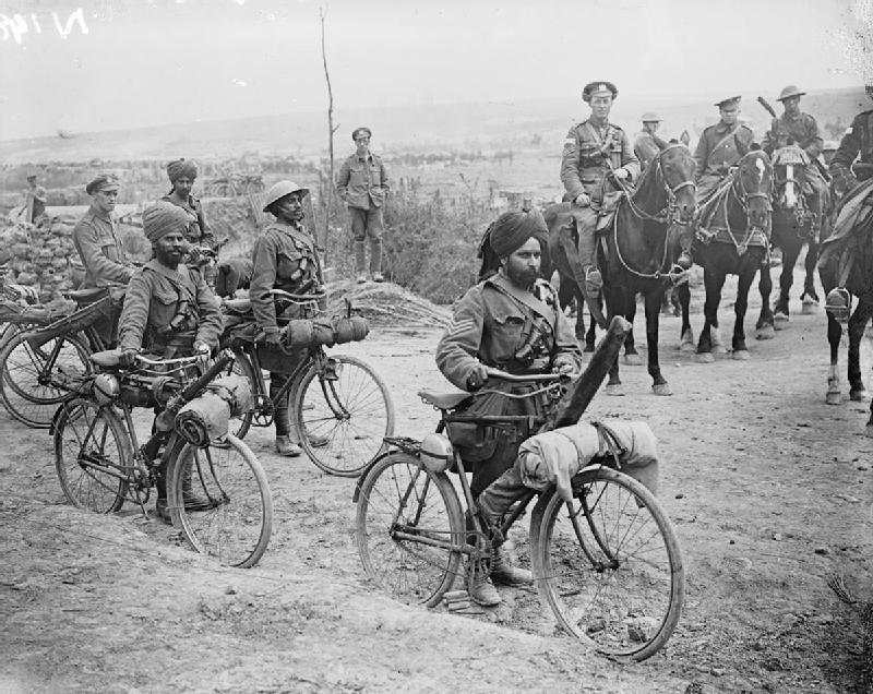 Fotoğraf6 - 1916 Fransa Somme Meydan Muharebesi'ndeki Hint askerler.jpg
