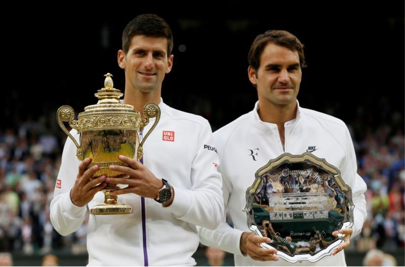 Novak Djokovic - Roger Federer - Reuters.JPG