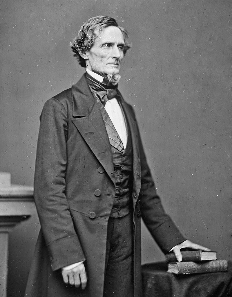2Amerika Konfedere Devletleri'nin başkanı Jefferson Davis.jpg