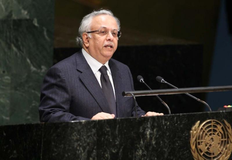 BM Suriye Daimi Temsilcisi Abdullah el- Muallimi Reuters