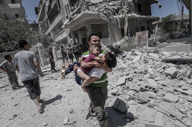 İdlib hava saldırı