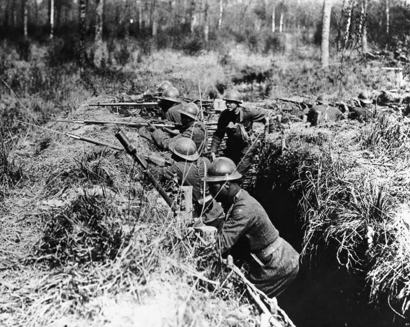 cephedeki askerler corbis
