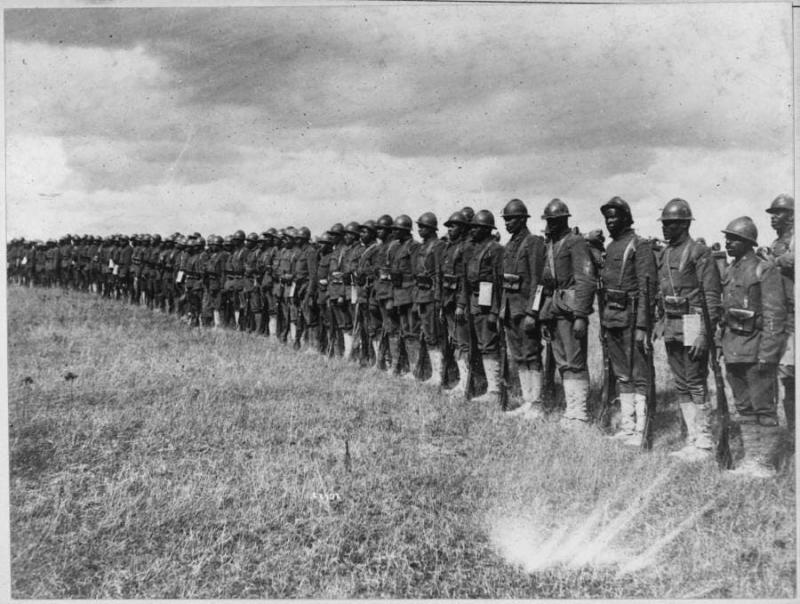 Fransa'daki 369. Piyade Alayı askerleri Interim Arşivleri
