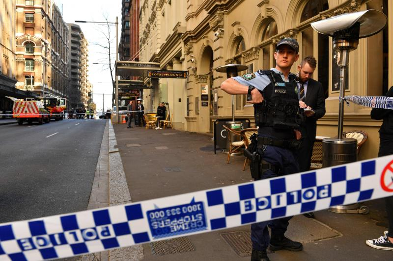 sydney saldırı AFP