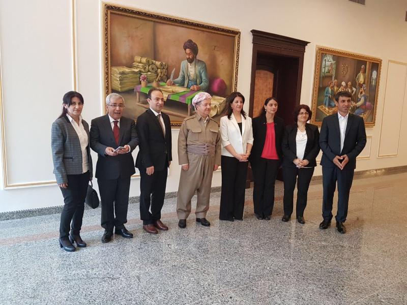 HDP'nin IKB'ye ziyareti