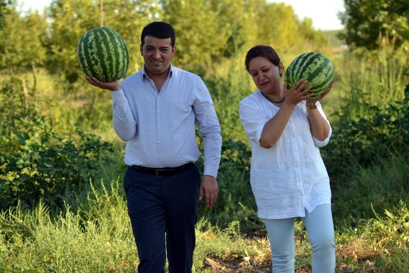 Bismil Belediyesi Eşbaşkanları Orhan Ayaz ve Gülşen Özer.JPG