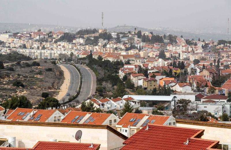 yahudi yerleşim yerleri israil afp