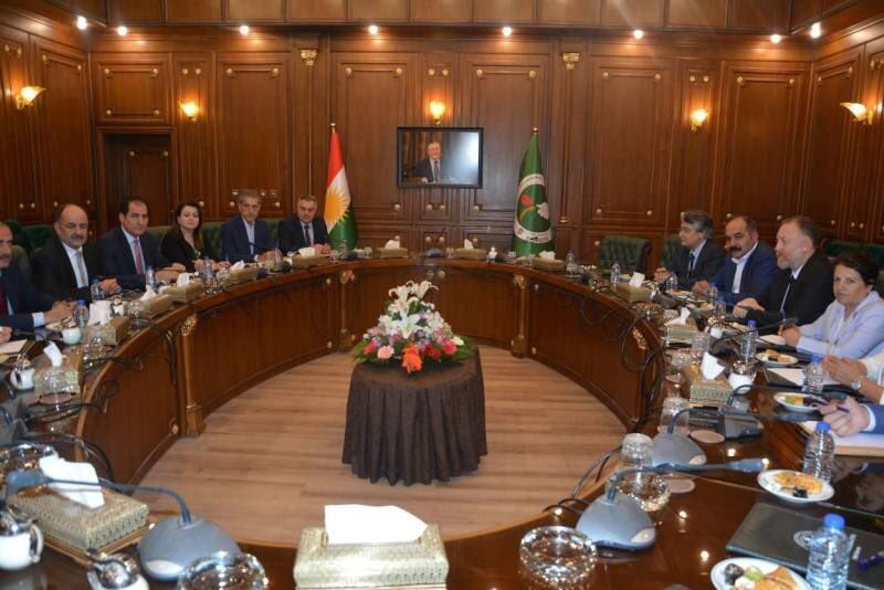 HDP'nin KYB ziyareti