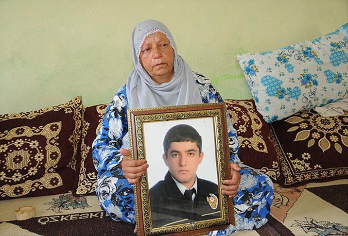 Vedat Kaya'nın annesi Emine Kaya AA.