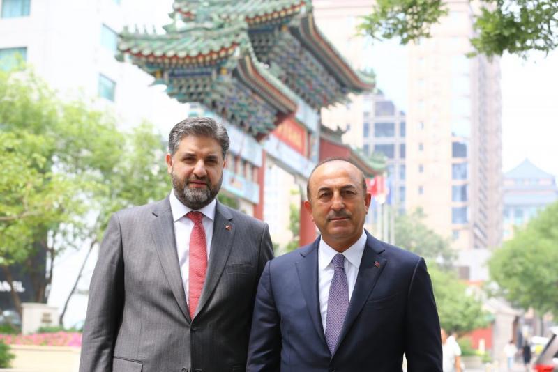 Abdulkadir Emin Önen Mevlüt Çavuşoğlu