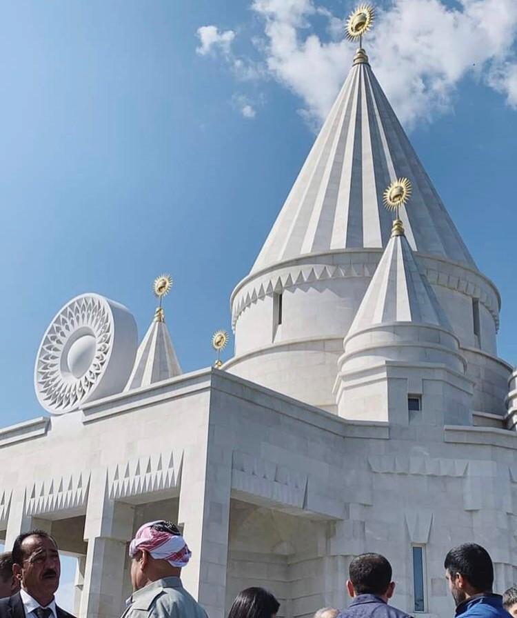 Ezidi tapınağı