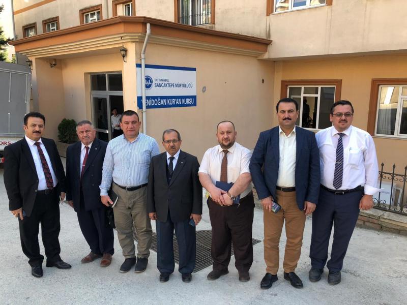 IKB heyeti Süleymancılara ait eğitim kurumlarını gezdi