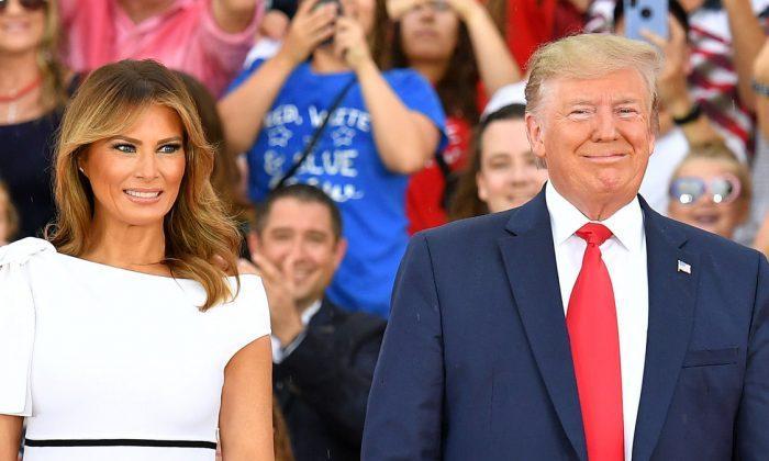 Donald Trump ve Melania Trump (AFP).jpg