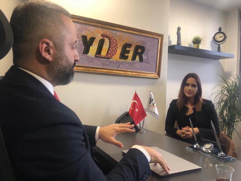 YİDER Başkanı Erdem Eriş'le ikili- Independent Türkçe