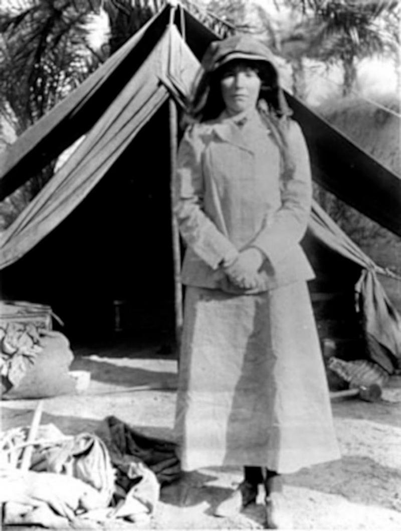 Gertrude Bell Gertrude Bell Arşivi, Wikimedia Commons.jpg