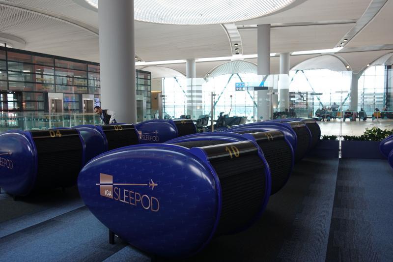 İstanbul Havalimanı İGA Sleepod
